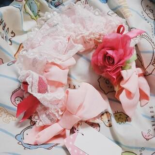 Angelic Pretty - ローズボンネット風カチューシャ