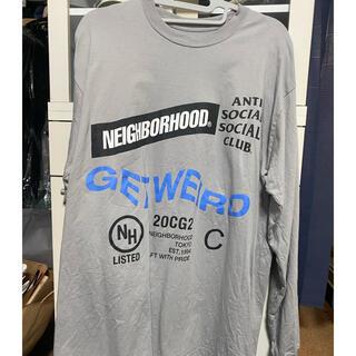 ネイバーフッド(NEIGHBORHOOD)のneighborhood Anti social social club ロンT(Tシャツ/カットソー(半袖/袖なし))