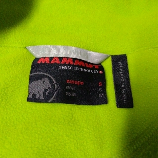 Mammut(マムート)のあさがお様〉 マムート フリース スポーツ/アウトドアのアウトドア(登山用品)の商品写真