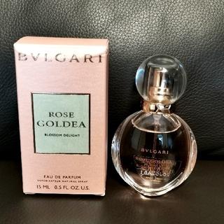 ブルガリ(BVLGARI)のローズゴルデアブロッサムディライト15ml(香水(女性用))