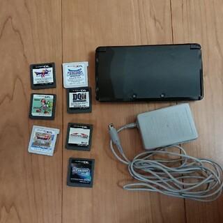 ニンテンドー3DS(ニンテンドー3DS)の3DS本体とソフトセット(携帯用ゲーム機本体)
