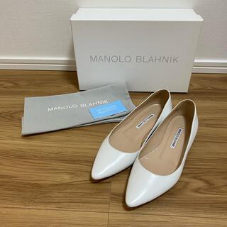 MANOLO BLAHNIK - MANOLO BLAHNIK  マノロブラニク フラット パンプス 36