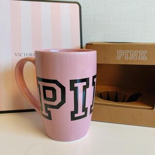 ヴィクトリアズシークレット(Victoria's Secret)の【新品】VS PINK マグカップ(グラス/カップ)