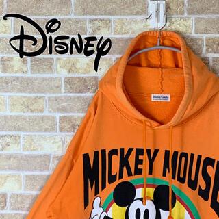 ディズニー(Disney)の送料無料!! ディズニー 人気 プリントロゴ ゆるだぼ 90s パーカー(パーカー)