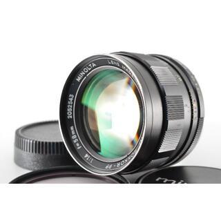コニカミノルタ(KONICA MINOLTA)のミノルタ Rokkor PF 58mm f1.4 SRマウント #1400 (レンズ(単焦点))