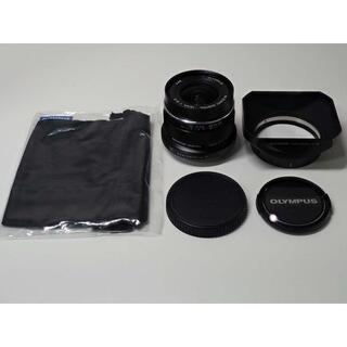 オリンパス(OLYMPUS)のM.ZUIKO 12mm ED f2.0 フードLH-48 ブラック 黒(レンズ(単焦点))