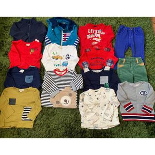 ムージョンジョン(mou jon jon)の子ども服 80サイズ セット売り(トレーナー)