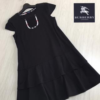 BURBERRY - 美品☆バーバリーロンドン 半袖ワンピース ホースマーク 160A