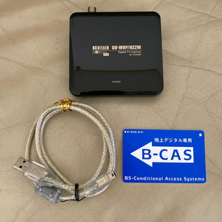 アイオーデータ(IODATA)のジャンク品 アイオーデータ USB接続 地デジキャプチャーGV-MVP/HZ2W(PC周辺機器)