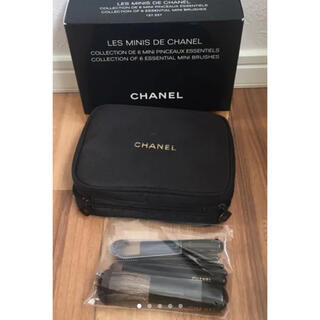 シャネル(CHANEL)の新品未使用!CHANEL メイクブラシ6本セット(ブラシ・チップ)