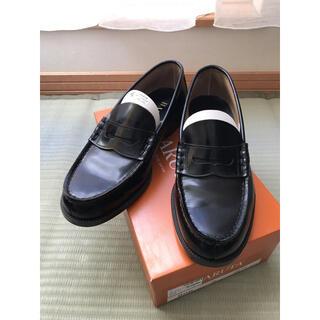 ハルタ(HARUTA)の【HARUTA】コインローファー #906 黒(ドレス/ビジネス)