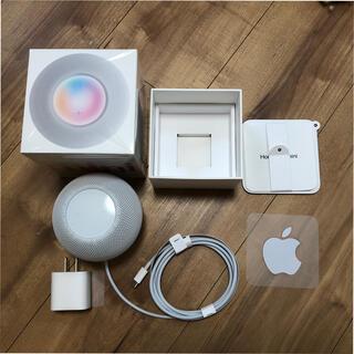 アップル(Apple)のHomePod mini ホワイト(スピーカー)