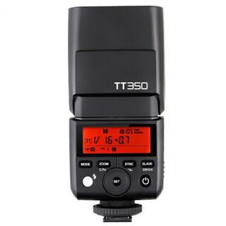 GODOX TT350 フジフィルム対応 付属品完備(ストロボ/照明)