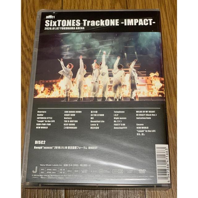 トーン インパクト dvd Sixtones 【セトリ】SixTONES Live