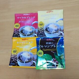 ブルックス(Brooks)のブルックスコーヒー 10袋(コーヒー)