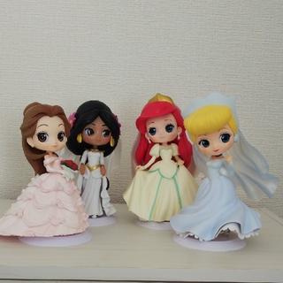 ディズニー(Disney)のQposket ディズニー ウェディングドレス 4体セット(アニメ/ゲーム)