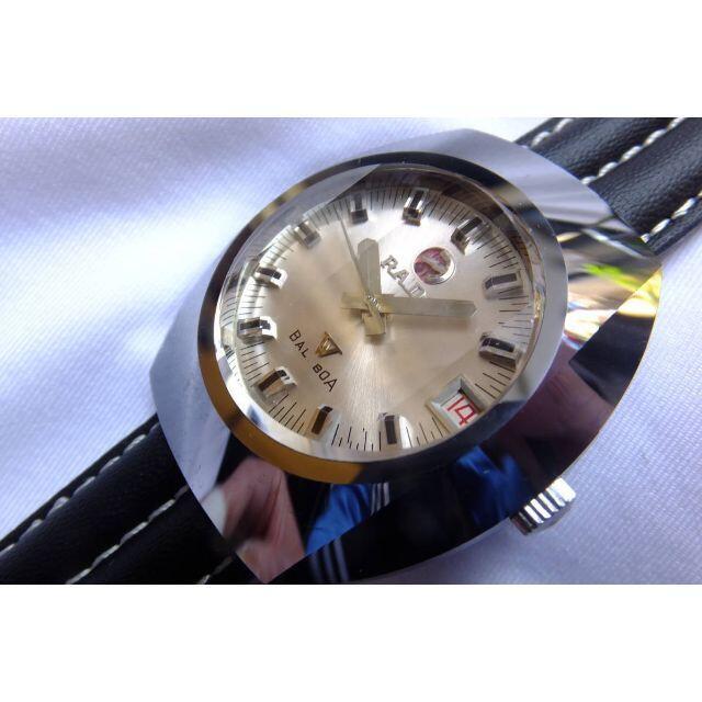 RADO(ラドー)の昭和ノスタルジー名機 ラドーバルボア RADOBALBOA 超硬合金 腕時計 メンズの時計(腕時計(アナログ))の商品写真