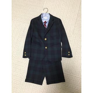 グリーンレーベルリラクシング(green label relaxing)のグリーンレーベルリラクシングのスーツセット125センチ(ドレス/フォーマル)