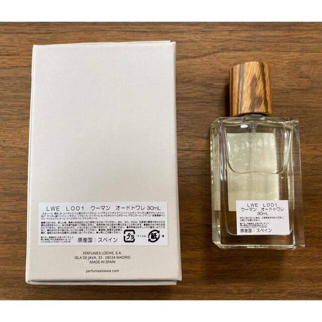 LOEWE(ロエベ)のLOEWE 001 WOMAN  Eau de Toilette 30ml コスメ/美容の香水(香水(女性用))の商品写真