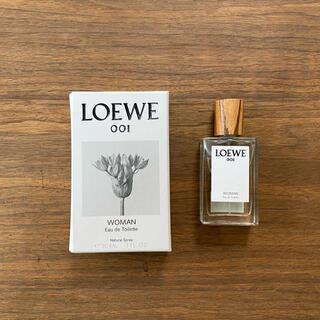 ロエベ(LOEWE)のLOEWE 001 WOMAN  Eau de Toilette 30ml(香水(女性用))