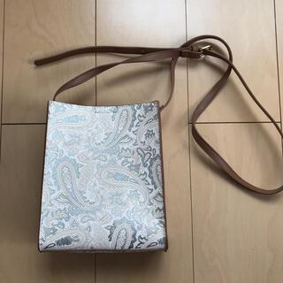 シマムラ(しまむら)の新品未使用 ペイズリー柄ショルダーバッグ(ショルダーバッグ)