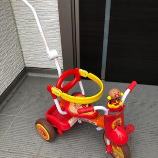 バンダイ(BANDAI)のアンパンマン 三輪車 折り畳み式 バンダイ(三輪車)