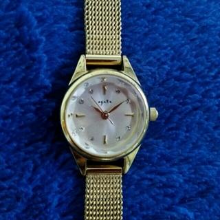 アガット(agete)の✨agate ANA機内販売限定腕時計✨(腕時計)