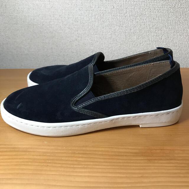 gaimo(ガイモ)のGAIMO ガイモ スリッポン 未使用 スニーカー レザー レディースの靴/シューズ(スリッポン/モカシン)の商品写真
