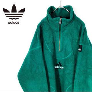 adidas - 希少!90's アディダス  ハーフジップフリース ポーラテック