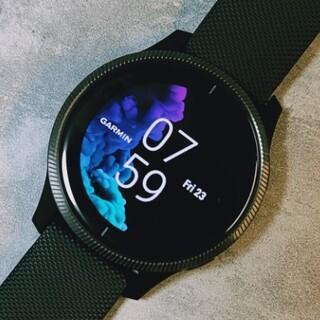 ガーミン(GARMIN)のGarmin VENU スマートウォッチ ガーミン 腕時計(腕時計(デジタル))