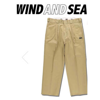 ロンハーマン(Ron Herman)のwind and sea × Dickies チノパンLサイズ(チノパン)