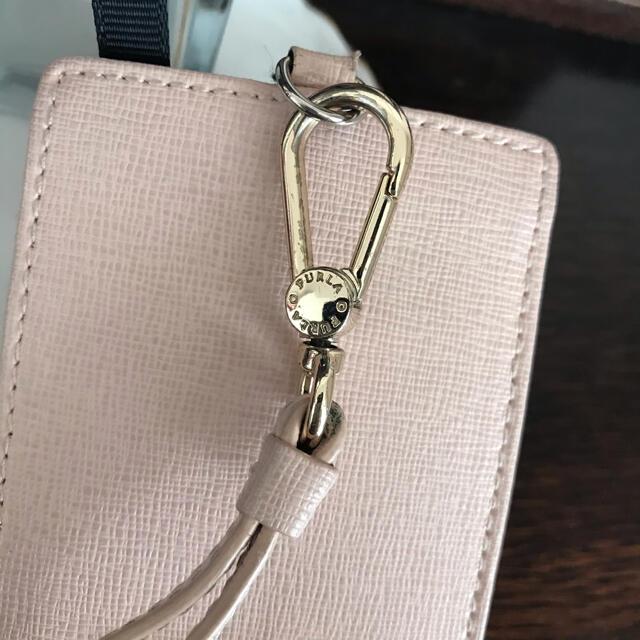 Furla(フルラ)のフルラ FURLA パスケース 薄ピンク レディースのファッション小物(名刺入れ/定期入れ)の商品写真