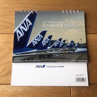 エーエヌエー(ゼンニッポンクウユ)(ANA(全日本空輸))のANA 卓上カレンダー 2021年(カレンダー/スケジュール)