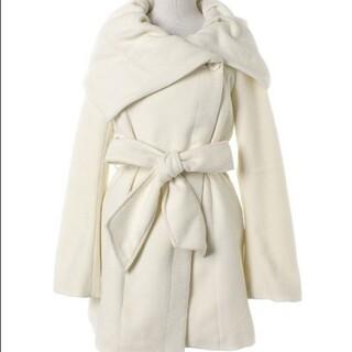 リエンダ rienda コート ホワイト