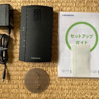 アイオーデータ(IODATA)の無線Wifiルーター製 WN-AC1167GR( IO DATA)(PC周辺機器)