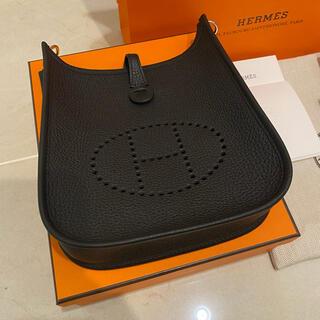 エルメス(Hermes)の新品・国内直営店 エルメス エヴリン TPM ノアール ブラック(ショルダーバッグ)