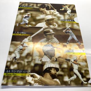 ハンシンタイガース(阪神タイガース)の阪神タイガース×くら寿司 コラボクリアファイル(応援グッズ)