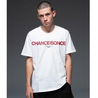 glamb - glamb CHANCE IS ONCE T/チャンスイズワンスT ホワイト4