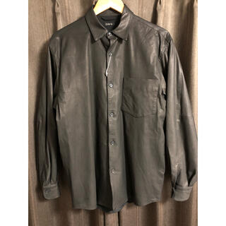 COMOLI - COMOLI(コモリ)レザーシャツ size1