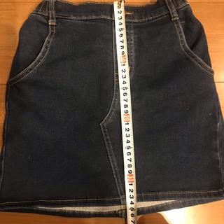 GU - GU キッズ140㎝ 裏起毛 スカート 送料無料‼️