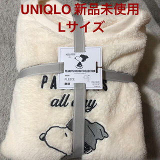 ユニクロ(UNIQLO)のユニクロ UNIQLO スヌーピー パジャマ ルームウェア  L 新品(パジャマ)