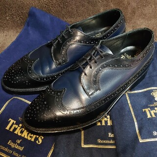 トリッカーズ(Trickers)のTricker's × nano・universe別注ロングウイング 8Fit5(ドレス/ビジネス)