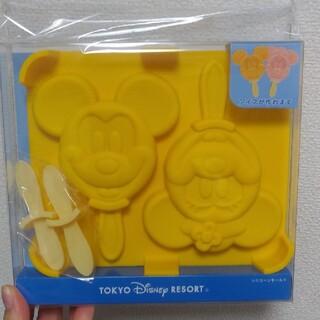 ディズニー(Disney)のディズニー アイス シリコンモールド(調理道具/製菓道具)