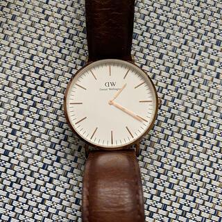 ダニエルウェリントン(Daniel Wellington)の時計(腕時計(アナログ))