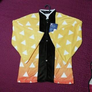 シマムラ(しまむら)の新品未使用 鬼滅の刃 我妻 善逸 しまむら 着る毛布(ルームウェア)