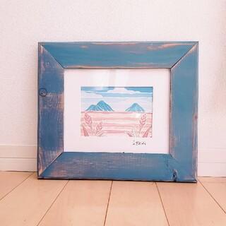 ロンハーマン(Ron Herman)のヘザーブラウン 額×アートプリント セット(絵画/タペストリー)