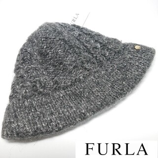 フルラ(Furla)の【新品タグ付き】フルラ ニット帽(ニット帽/ビーニー)