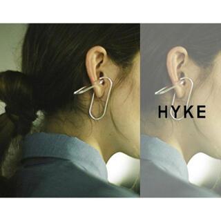 ハイク(HYKE)の新品◇HYKE ハイク TWO OVAL HOOP EAR CUFF(イヤーカフ)