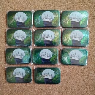 タイトー(TAITO)の呪術廻戦 狗巻棘 スクエア缶バッジ ホログラム(キャラクターグッズ)
