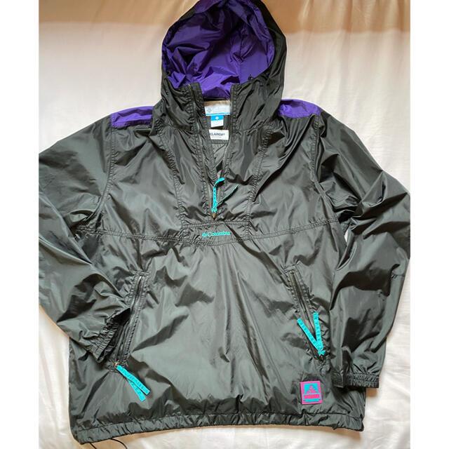 XLARGE(エクストララージ)のcolumbia xlarge SANTA ANA ANORAK JACKET メンズのジャケット/アウター(ナイロンジャケット)の商品写真
